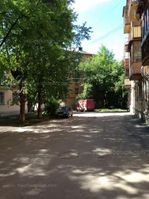 View to: 40-letiya Oktiabrya street, 4; 40-letiya Oktiabrya street, 6; XXII partsiezda street, 11А. Yekaterinburg (Sverdlovskaya oblast)
