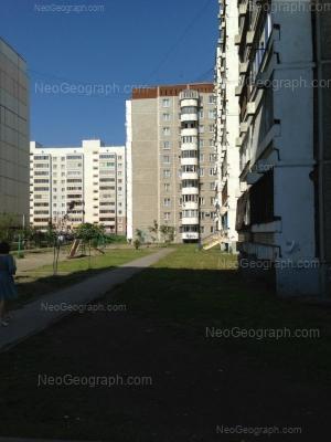 View to: Vilonova street, 10; Vilonova street, 12; Mendeleeva street, 31. Yekaterinburg (Sverdlovskaya oblast)