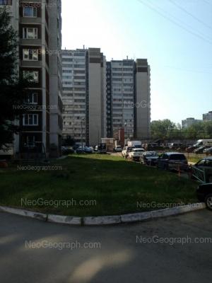 View to: Uralskikh Rabochikh street, 15; Uralskikh Rabochikh street, 17; Uralskikh Rabochikh street, 21. Yekaterinburg (Sverdlovskaya oblast)