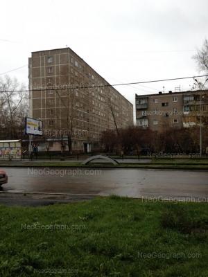 View to: Uralskaya street, 56; Uralskaya street, 58/1. Yekaterinburg (Sverdlovskaya oblast)