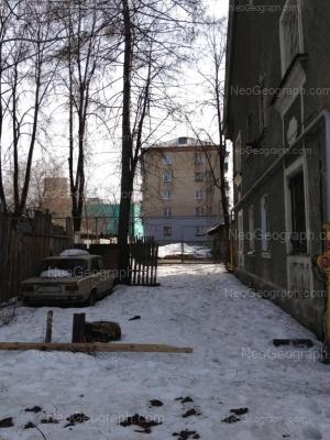View to: Kalinovskiy lane, 13; Korepina street, 20; Stachek street, 3. Yekaterinburg (Sverdlovskaya oblast)
