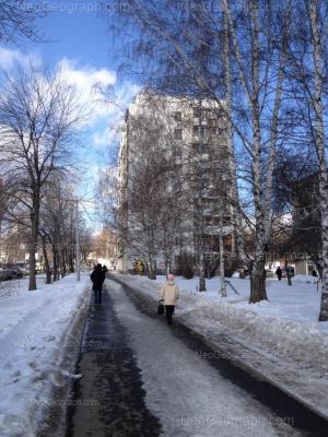 View to: Shaumyana street, 94; Shaumyana street, 96. Yekaterinburg (Sverdlovskaya oblast)