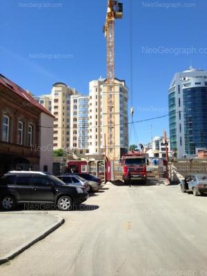 View to: Sakko i Vantsetti street, 67; Sakko i Vantsetti street, 70; Sakko i Vantsetti street, 97 (Тихвин); Khokhriyakova street, 42. Yekaterinburg (Sverdlovskaya oblast)