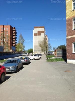 View to: Bilimbaevskaya street, 41; Bilimbaevskaya street, 43. Yekaterinburg (Sverdlovskaya oblast)