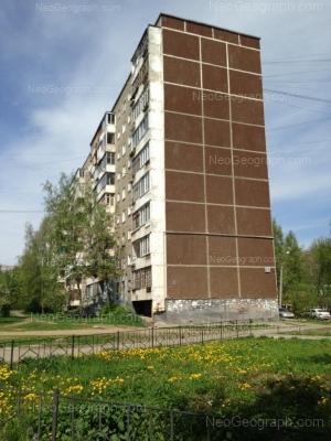 На фото видно: Пехотинцев улица, 17. Екатеринбург (Свердловская область)