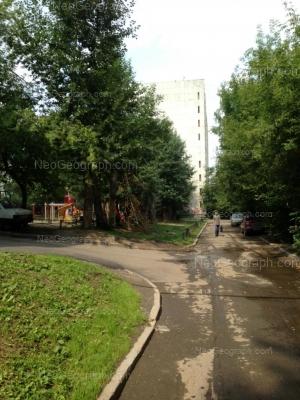 View to: Kominterna street, 18. Yekaterinburg (Sverdlovskaya oblast)
