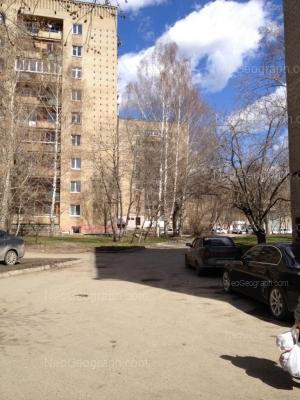 На фото видно: Комсомольская улица, 2А; Комсомольская улица, 2. Екатеринбург (Свердловская область)