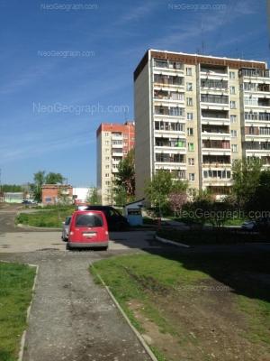 На фото видно: Бисертская улица, 1/1; Бисертская улица, 18А; Бисертская улица, 18. Екатеринбург (Свердловская область)