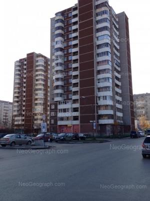 View to: Akademika Shvartsa street, 2 к2; Akademika Shvartsa street, 2 к3. Yekaterinburg (Sverdlovskaya oblast)