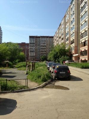 На фото видно: Боровая улица, 19; Боровая улица, 21А. Екатеринбург (Свердловская область)