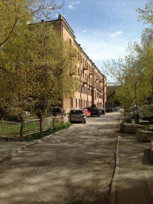 На фото видно: Восточная улица, 50; Восточная улица, 52; Первомайская улица, 60. Екатеринбург (Свердловская область)