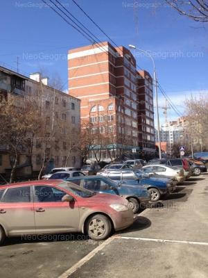 View to: Severniy lane, 3; Severniy lane, 5; Sheveleva street, 5. Yekaterinburg (Sverdlovskaya oblast)