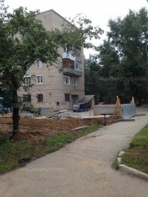 На фото видно: Лобкова улица, 32. Екатеринбург (Свердловская область)
