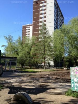 На фото видно: Решетникова проезд, 12; Решетникова проезд, 14. Екатеринбург (Свердловская область)
