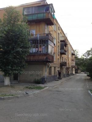 View to: Iliicha street, 13. Yekaterinburg (Sverdlovskaya oblast)