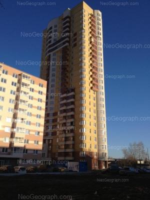 На фото видно: Боровая улица, 31; Вилонова улица, 24. Екатеринбург (Свердловская область)
