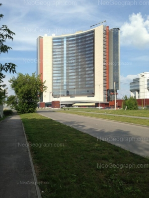 View to: Borisa Eltsina street, 8 (Hyatt Regency). Yekaterinburg (Sverdlovskaya oblast)