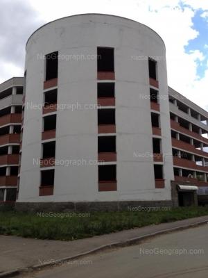 На фото видно: Шефская улица, 105 (Парковка, 6 уровней). Екатеринбург (Свердловская область)