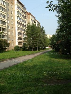 View to: Frezerovschikov street, 28. Yekaterinburg (Sverdlovskaya oblast)