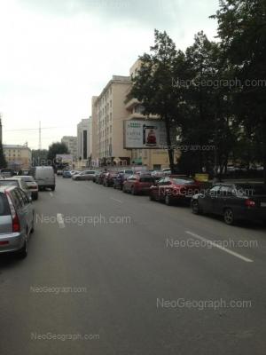 На фото видно: Красноармейская улица, 1 (Большой Урал, гостиница). Екатеринбург (Свердловская область)