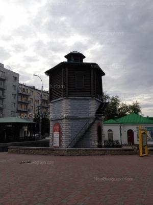 View to: Maksima Gorkogo street, 4; Maksima Gorkogo street, 4в; Maksima Gorkogo street, 27. Yekaterinburg (Sverdlovskaya oblast)