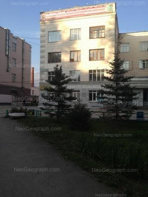 View to: Sibirskiy trakt street, 37 (УГЛТУ, главный корпус). Yekaterinburg (Sverdlovskaya oblast)