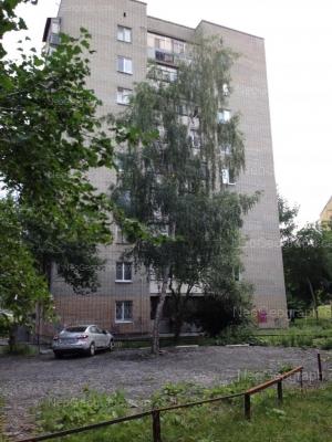 View to: Kosmonavtov avenue, 33. Yekaterinburg (Sverdlovskaya oblast)