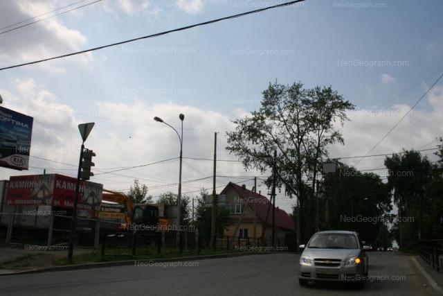 Address(es) on photo: Verkhniy lane, 85, Yekaterinburg