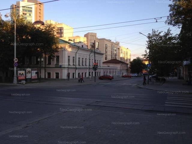 Адрес(а) на фотографии: улица Сакко и Ванцетти, 45, 47, 57, Екатеринбург