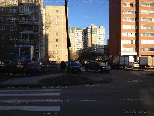 Адрес(а) на фотографии: Боровая улица, 21, 23, 25, 29, Екатеринбург