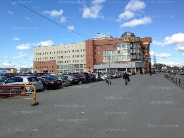 Вид на торговый комплекс Таганский ряд, Екатеринбург, адрес которого ул. Техническая, 19