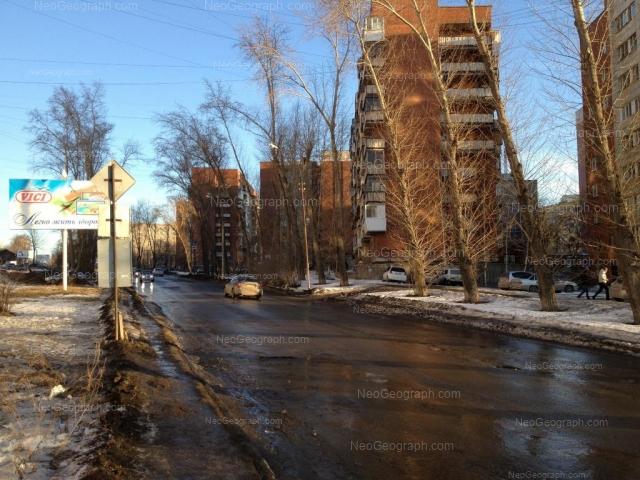 Адрес(а) на фотографии: Уральская улица, 2, 4, 6, 8, Екатеринбург