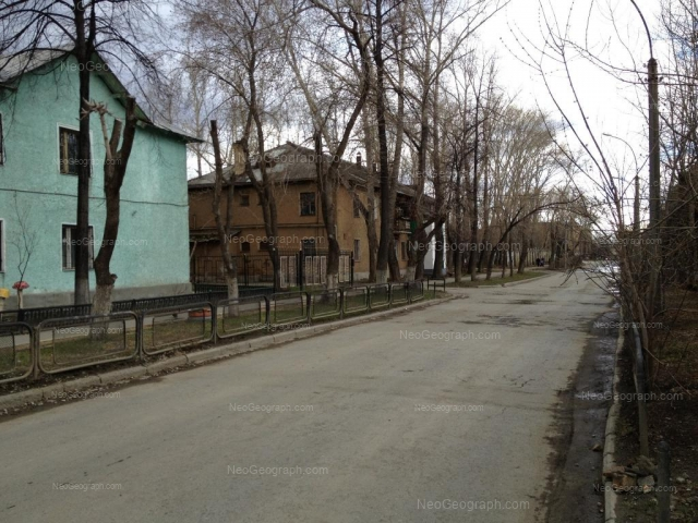 Адрес(а) на фотографии: Клубный переулок, 1, Екатеринбург