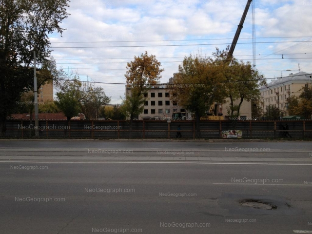 Адрес(а) на фотографии: улица Челюскинцев, 96, Екатеринбург