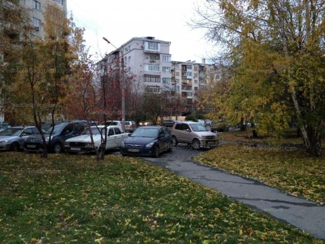Адрес(а) на фотографии: улица Шейнкмана, 19, 21, Екатеринбург