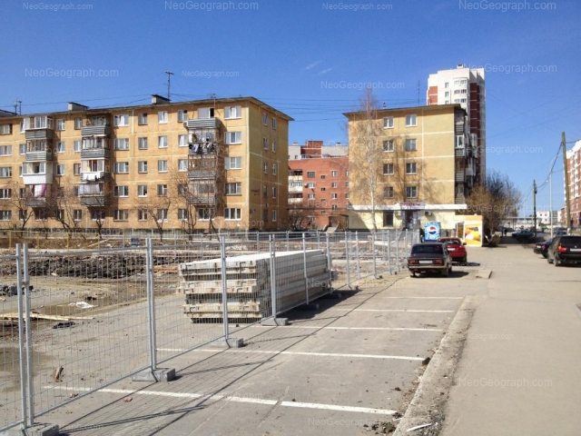 Адрес(а) на фотографии: улица Пехотинцев, 2/1, 2/2, 2/3, Екатеринбург