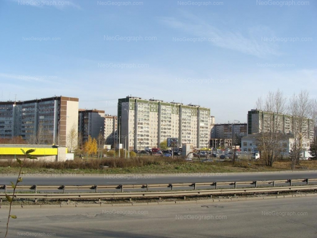 Address(es) on photo: Rodonitovaya street, 2 к2, 6, 8, Yekaterinburg