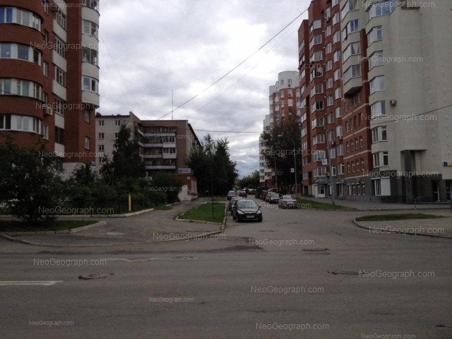 Address(es) on photo: Chaikovskogo street, 16, 19, Yekaterinburg
