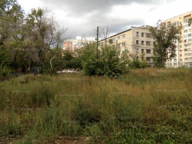 Address(es) on photo: Pedagogicheskaya street, 4, 8, 8А, Yekaterinburg