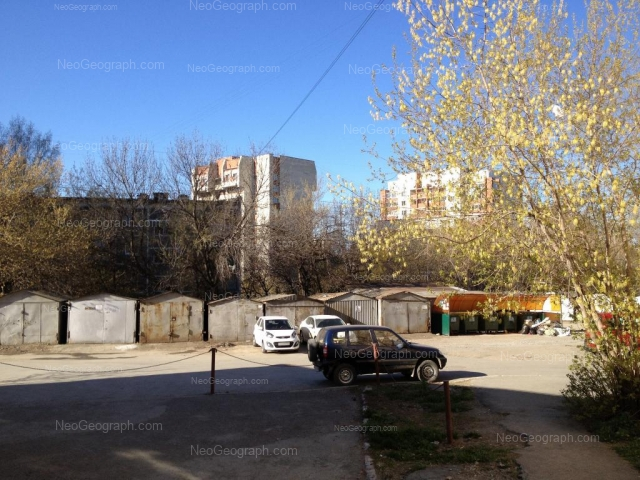 Адрес(а) на фотографии: улица Пальмиро Тольятти, 13А, 15В, 15Г, Екатеринбург