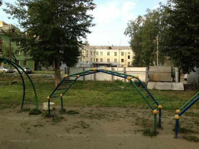 Адрес(а) на фотографии: Черноморский переулок, 3, Екатеринбург