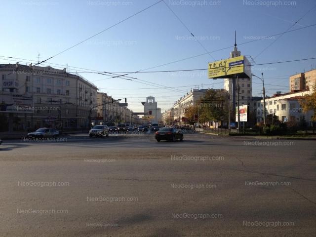 Адрес(а) на фотографии: улица Челюскинцев, 102, Екатеринбург