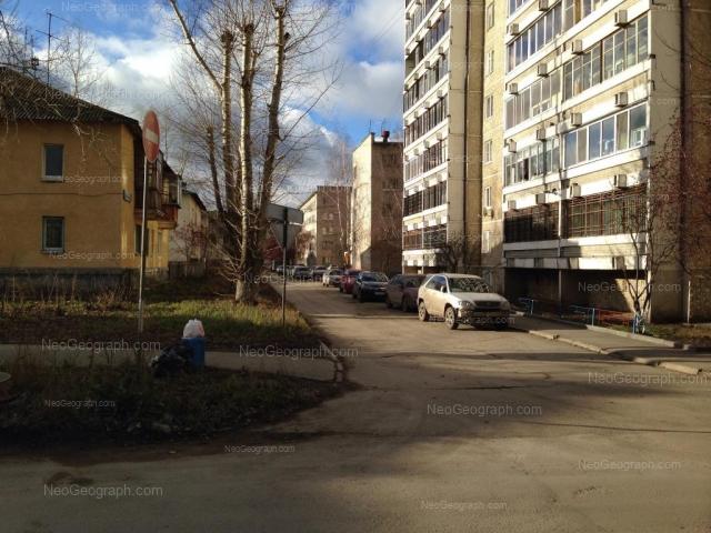 Address(es) on photo: Khvoinaya street, 73, 76 к1, 76 к2, Yekaterinburg