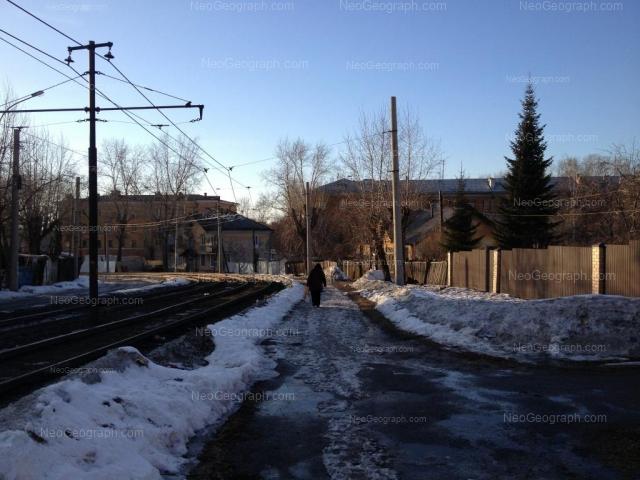 Адрес(а) на фотографии: Трамвайный переулок, 3, 7, 9, Екатеринбург