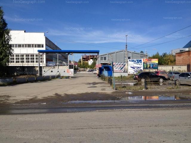 Адрес(а) на фотографии: Промышленный проезд, 3е, 3ж, Екатеринбург