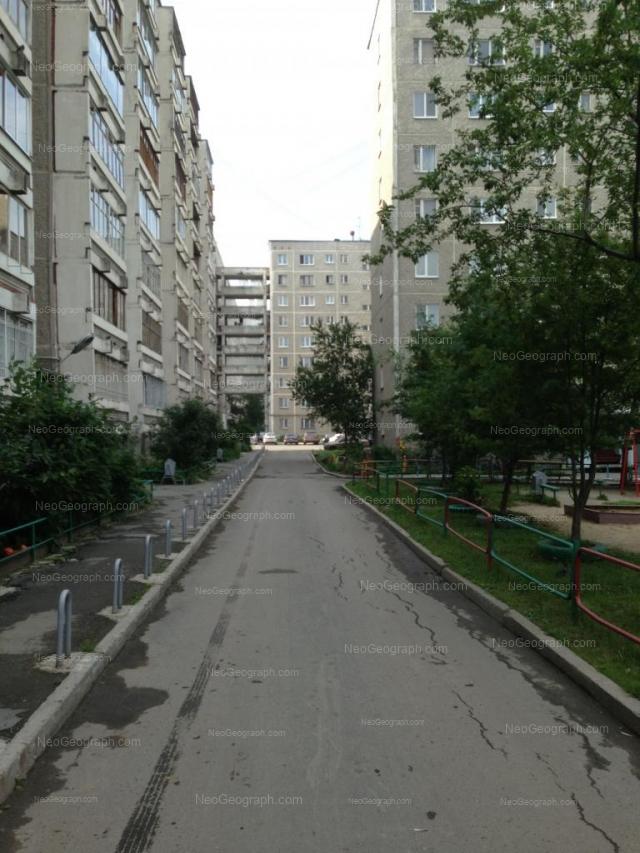 Адрес(а) на фотографии: улица Фрезеровщиков, 39, 41, 43, Екатеринбург
