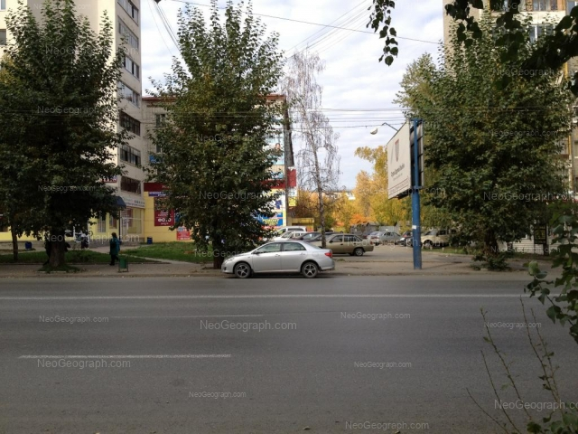 Адрес(а) на фотографии: улица Щорса, 54, 56, 56б, 58, Екатеринбург