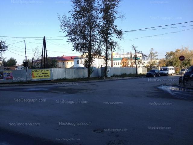 Адрес(а) на фотографии: Производственный переулок, 7, Екатеринбург