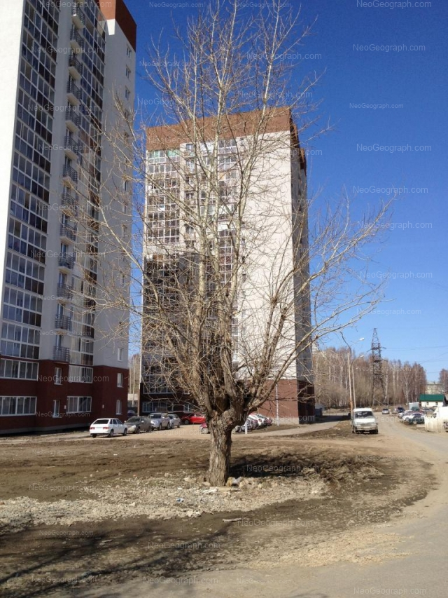 Адрес(а) на фотографии: улица Крупносортщиков, 12, 16, Екатеринбург
