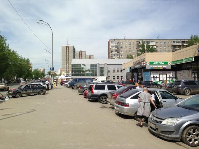 Адрес(а) на фотографии: улица Пехотинцев, 5, 7а, Екатеринбург